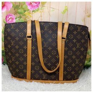 Authentic Louis Vuitton Monogram Babylon Tote Bag